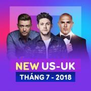 Nghe nhạc hay Nhạc Âu Mỹ Mới Tháng 07/2018 trực tuyến