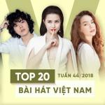 Tải bài hát Mp3 Top 20 Bài Hát Việt Nam Tuần 44/2018