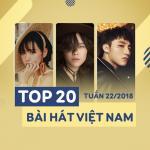 Tải bài hát hot Top 20 Bài Hát Việt Nam Tuần 22/2018 hay online