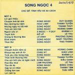 Nghe nhạc Mp3 Băng Nhạc Song Ngọc 4 (Trước 1975) hay nhất