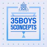 Download nhạc Mp3 Produce 101 Season 2 - 35 Boys 5 Concepts (Mini Album) mới online