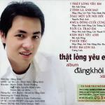 Tải bài hát Mp3 Thật Lòng Yêu Em (Vol 1) mới online