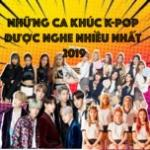 Nghe nhạc Những Ca Khúc K-Pop Được Nghe Nhiều Nhất 2019 trực tuyến